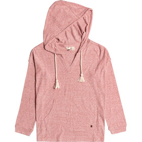Roxy Lovely Life Knit Hoodie Women, ash rose
